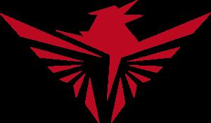 Big red eagle logo